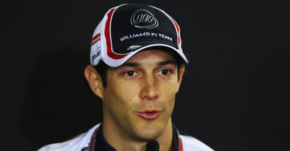 Bruno Senna participa de coletiva em Interlagos, para o GP do Brasil do próximo domingo
