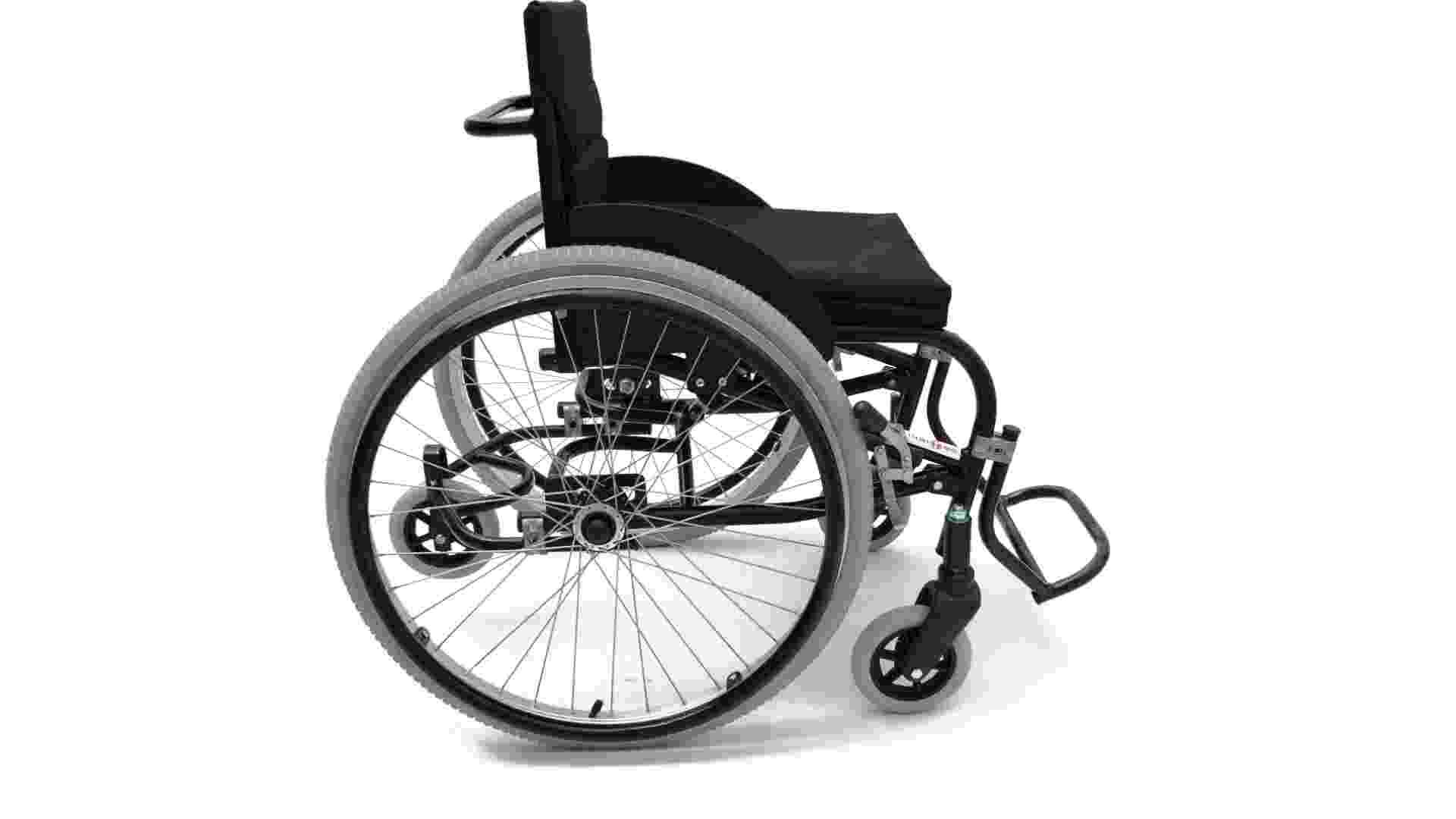 Categoria Equipamento de Transporte: cadeira de rodas Superia (menção honrosa). Design: Cristiano Godinho Barony. Produção: Inditec  - Divulgação