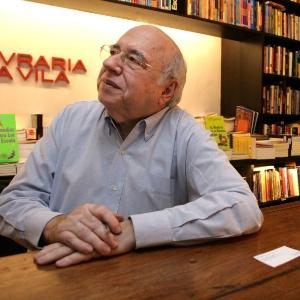 O escritor Luis Fernando Verissimo que esteve internado em novembro do ano passado com infecção generalizada - Folhapress