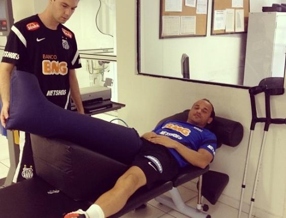 Lateral esquerdo Léo realizou duas cirurgias no joelho direito nesta temporada