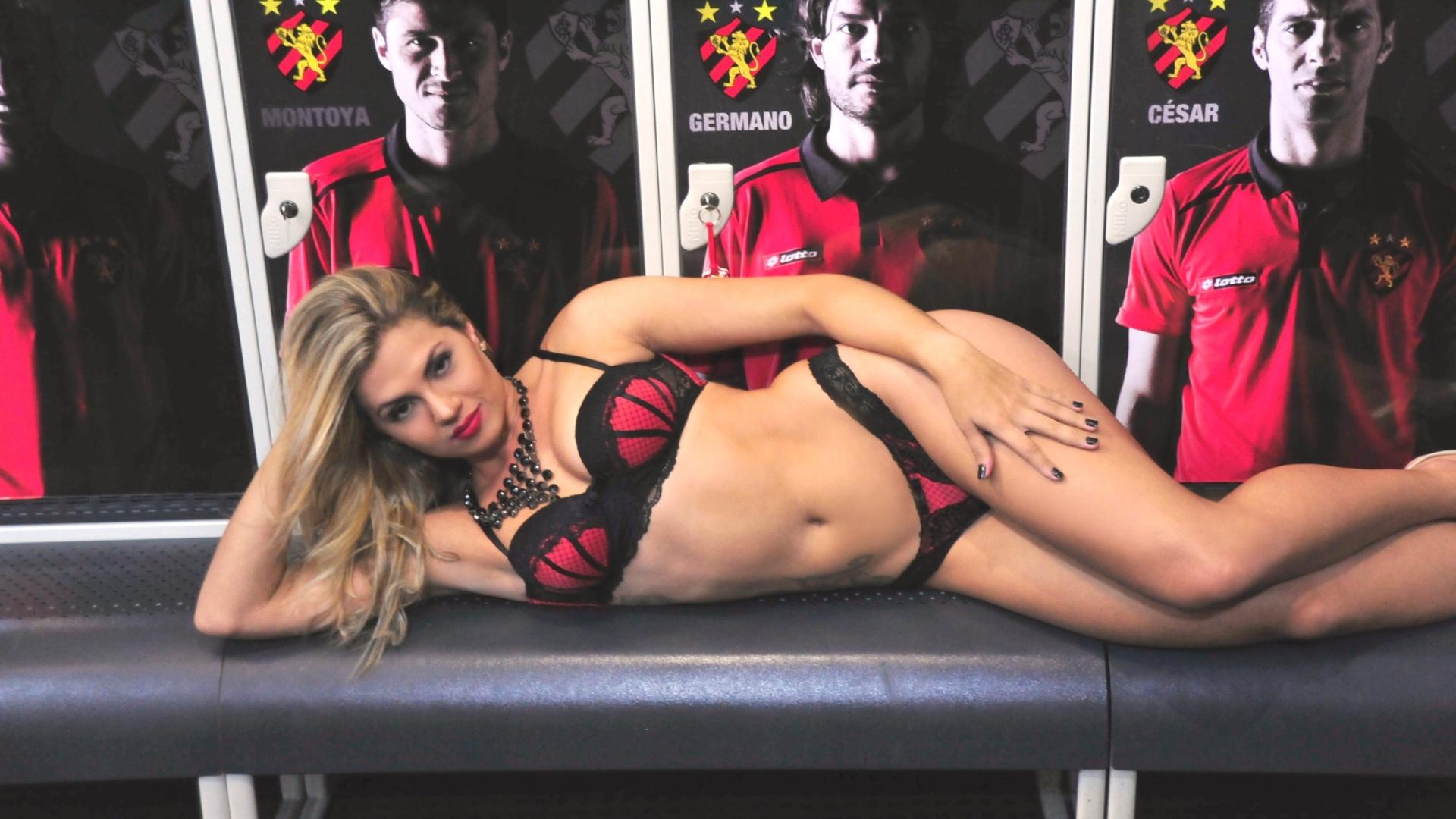 Marianna Rosas, a bela do Sport