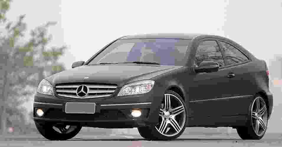 Mercedes-Benz CLC Kompressor com som de Subaru WRX SW - Luciano Falconi/Fullpower