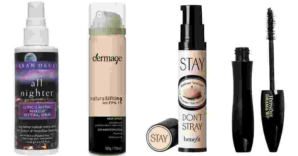 Produtos para fazer a maquiagem durar por mais tempo - Divulgação