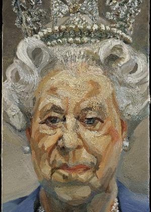 Retrato de Elizabeth 2ª pintado por Lucien Freud, neto do psicanalista  - EFE