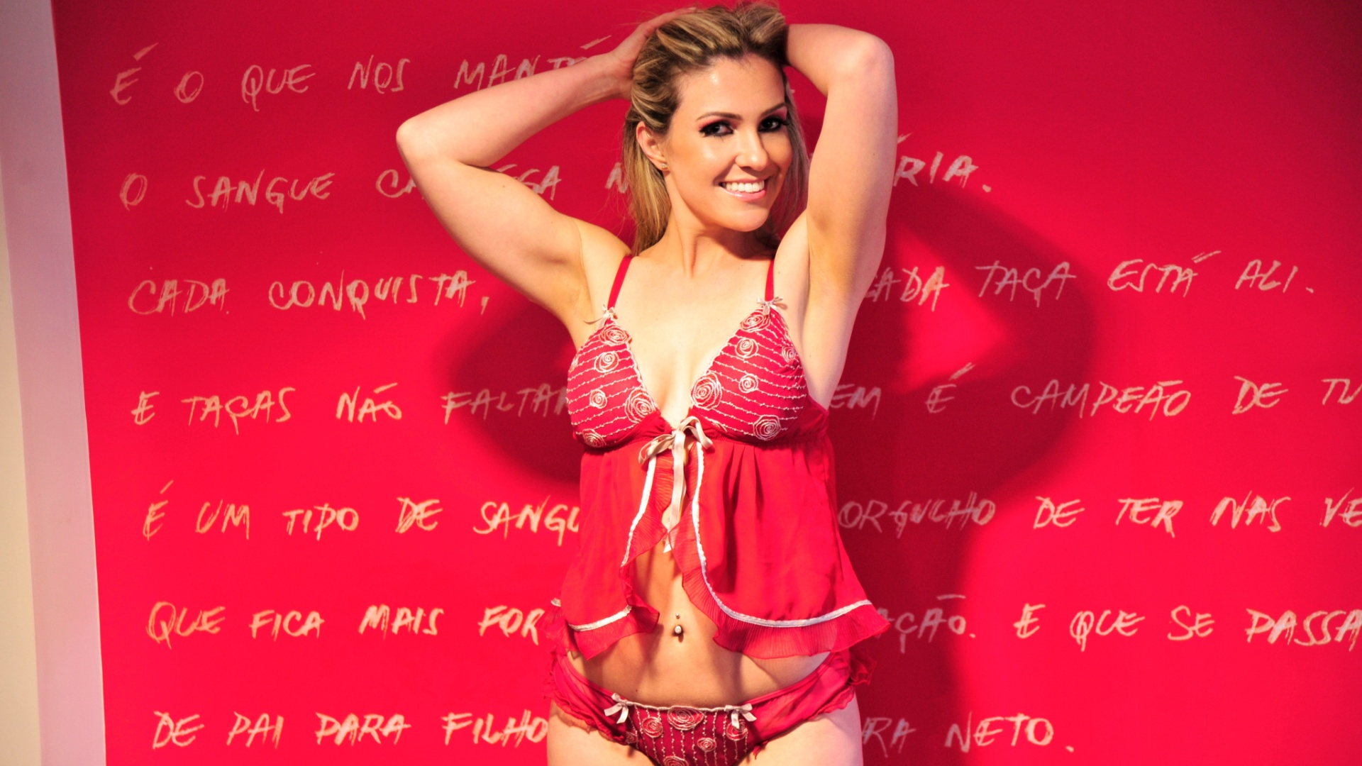 Vivian Coitinho, a bela do Internacional