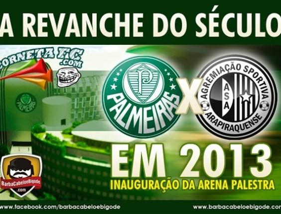 Corneta FC: Palmeiras começa a se preparar para revanche do século