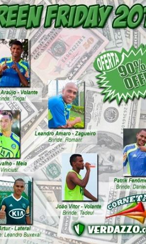 Corneta FC: Palmeiras faz a sua Green Friday e distribui brindes