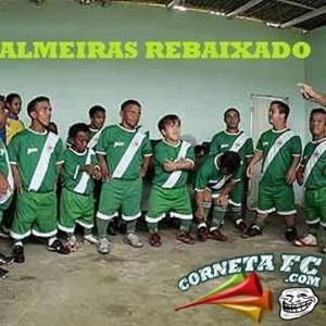 Corneta FC: Veja foto do vestiário do Palmeiras após o rebaixamento