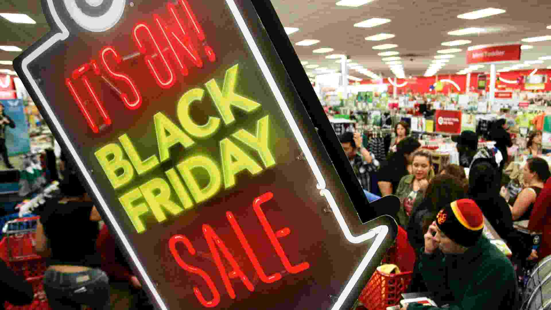 Foto black friday estados Unidos eua  - Jonathan Alcorn/Reuters