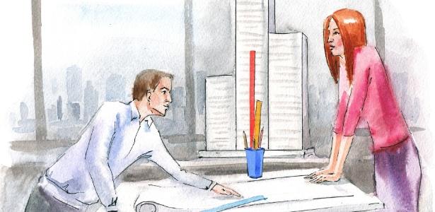 Se um colega insiste em agir como se fosse seu chefe, o ideal é ter uma conversa franca com ele - Thinkstock