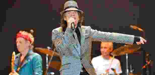 Os Rolling Stones apresentam seu aguardado retorno aos palcos, cinco anos após sua última turnê, em Londres (25/nov/12)  -