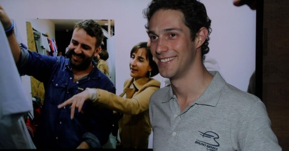 25.nov.2012 - O lançamento oficial da coleção de Bruno Senna e Colcci ocorreu no domingo, em evento na casa da promoter Alicinha Cavalcanti