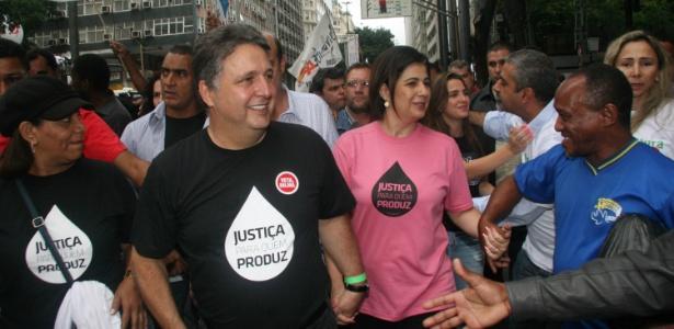 Anthony Garotinho e Rosinha foram presos nesta quarta-feira (22) - Zulmair Rocha/UOL