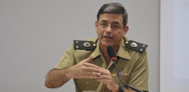 O general Jamil Megid em foto pouco antes dos Jogos Mundiais Militares de 2011