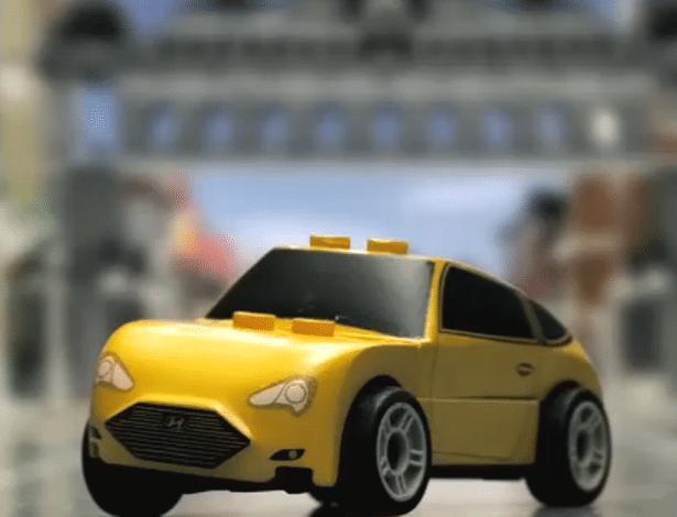 Pode falar: Veloster Turbo de Lego ficou parecendo táxi gringo