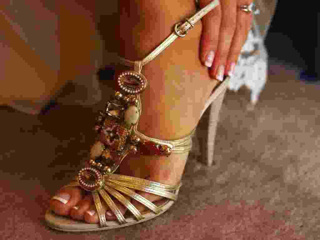 Imagem para matéria do Casamentoclick de sapatos diferentes para noivas - Thinkstock
