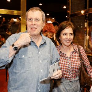 """O diretor Daniel Filho e sua mulher, a cantora Olivia Byington, prestigiam a reestreia do espetáculo """"Tim Maia Vale Tudo, O Musical"""" no Theatro Net Rio, na zona sul carioca (25/11/2012) - AgNews"""