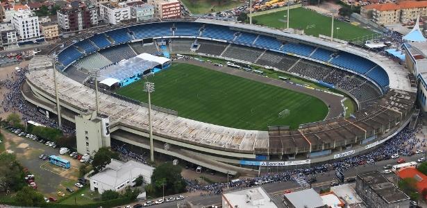O estádio Olímpico está em processo de demolição, mas será campo de treinamentos para Copa