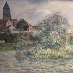 """Obra de Claude Monet intitulada """"L""""Eglise a Vetheuil"""", de 1881, que foi vendida ilegalmente pela ex-secretária particular de Imelda Marcos - Reuters/Manhattan District Attorney""""s"""
