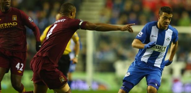 Franco Di Santo pertence ao clube alemão, mas já passou por vários clubes europeus