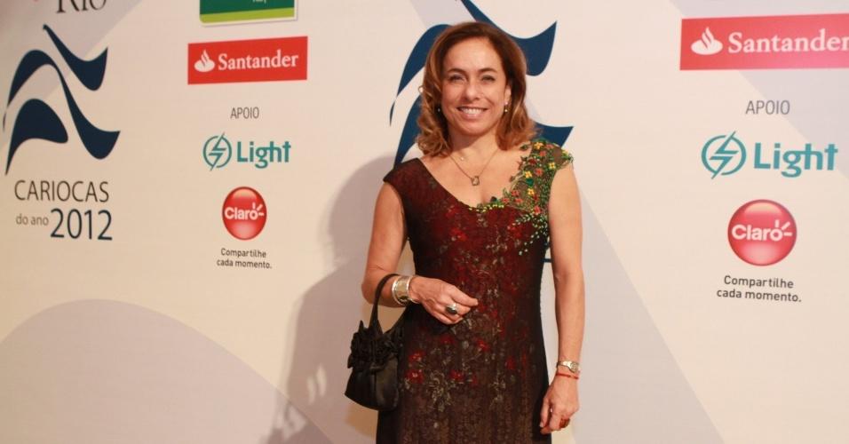 """Cissa Guimarães na premiação """"Os Cariocas do Ano 2012"""" da Revista Veja Rio no Copacabana Palace, no Rio de Janeiro (27/11/12)"""