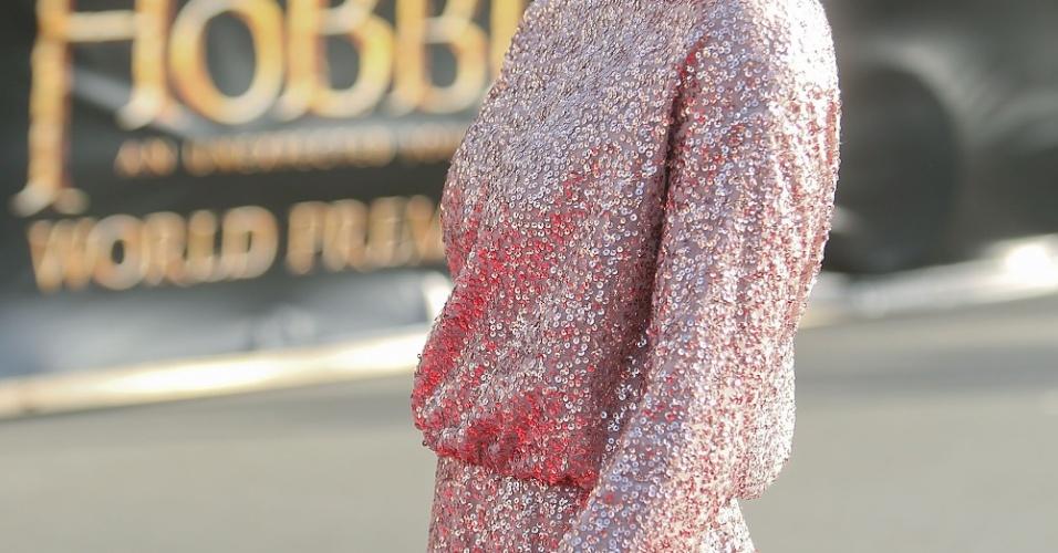 Evangeline Lilly participa da pré-estreia de