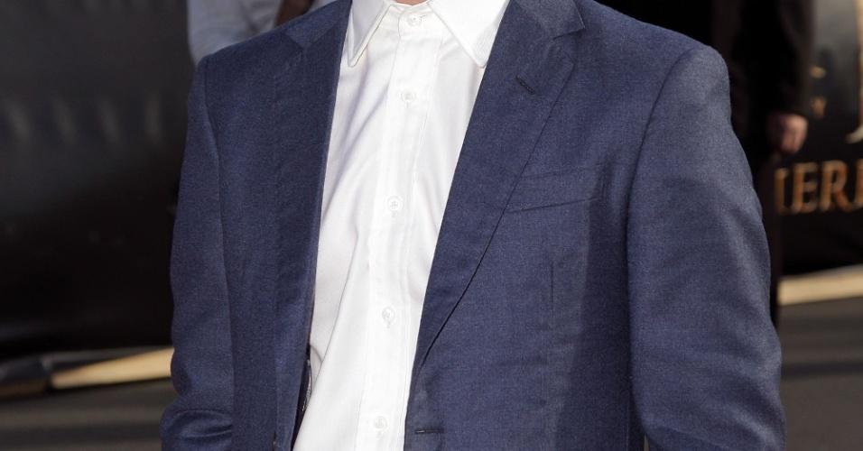 O ator Elijah Wood participa da pré-estreia de
