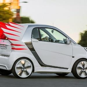 Smart apresenta carro inspirado em estilista da Madonna - 28