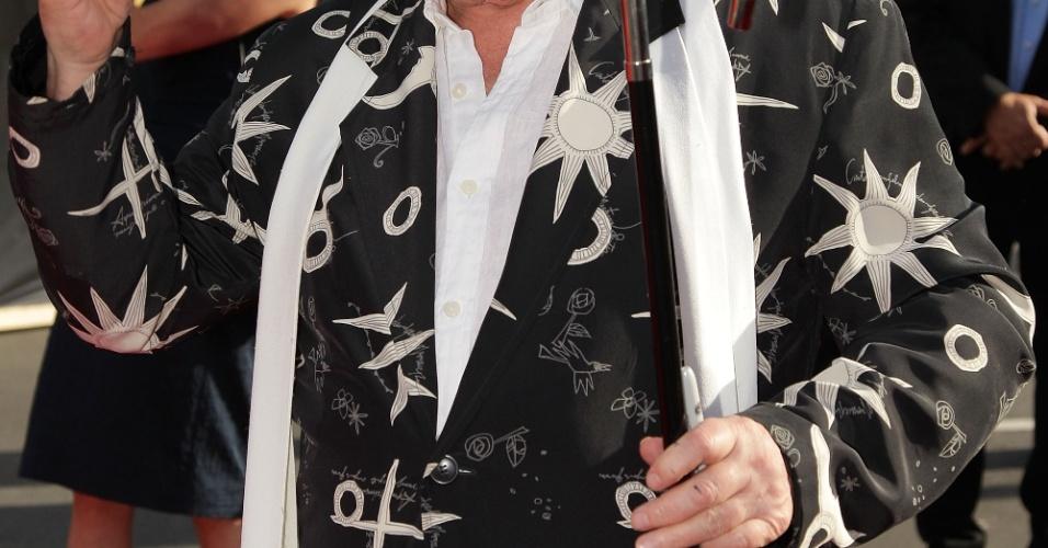 Sylvester McCoy, que interpreta o personagem Radagast the Brown, participa da pré-estreia de
