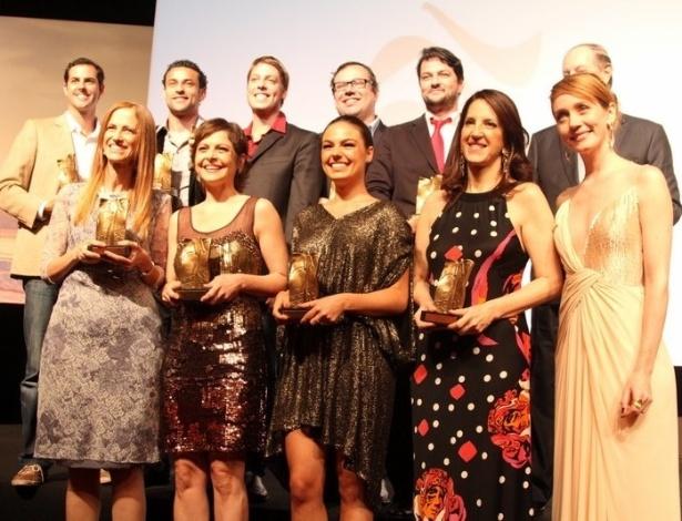 """Vencedores da premiação """"Os Cariocas do Ano 2012"""" da Revista Veja Rio no Copacabana Palace, no Rio de Janeiro 27.nov.2012"""