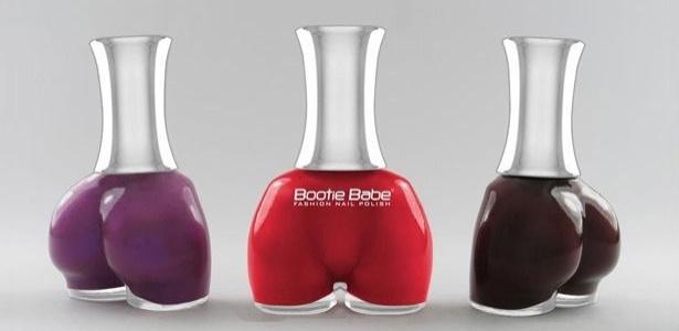 Esmaltes Bootie Babe da coleção Big Bootie: vidrinho em homenagem ao bumbum - Divulgação