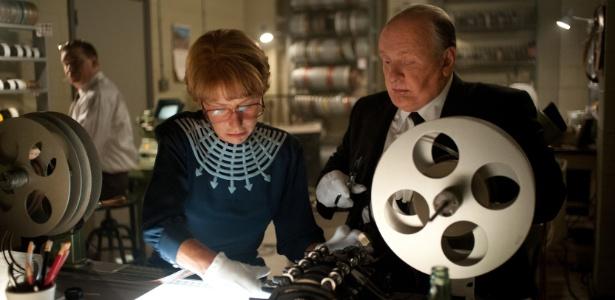 """Helen Mirren e Anthony Hopkins em cena do filme """"Hitchcock"""", de Sacha Gervasi - Divulgação"""
