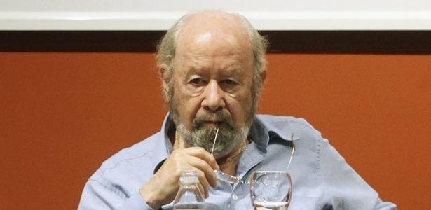 O escrito Jose Manuel Caballero Bonald participa de conferência da Fundação Caballero Bonald, na Espanha (3/9/10) - Javier Fernanzez/AP Photo