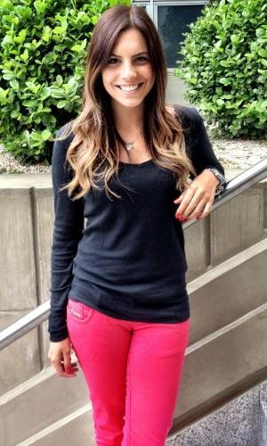 Rúbia Baricelli, estudante de publicidade