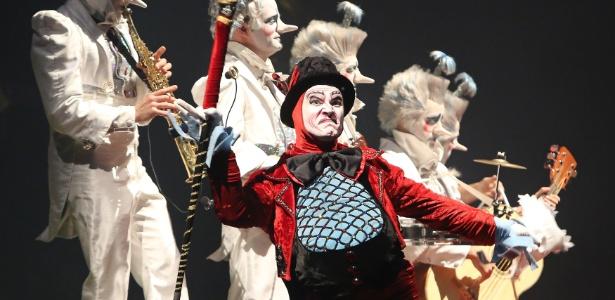 """O espetáculo """"Alegria"""", do Cirque du Soleil, é exibido no Omnisports Palace of Bercy, em Paris - Brainpix"""