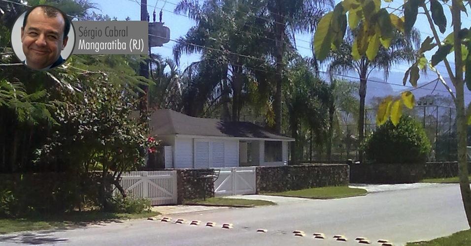 Casa do governador Sérgio Cabral (PMDB) no condomínio de luxo Porto Belo, em Mangaratiba. À Receita, Cabral declarou que o imóvel vale R$ 200 mil (o valor informado à Receita não está corrigido, por isso é inferior ao valor comercial atual)