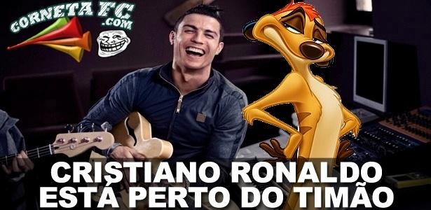 Corneta FC: Mercado da Bola Fanfarrão: Agente garante CR7 perto do Timão