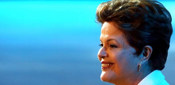 A presidente Dilma Rousseff parabenizou os jogadores da seleção brasileira pelo título conquistado