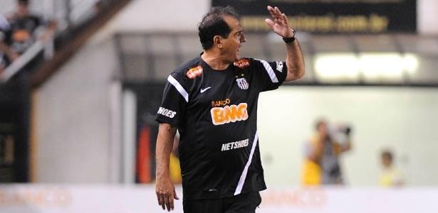 Muricy prefere jogar na Vila, mas pode enfrentar o Corinthians em outro estádio - Junior Lago/UOL