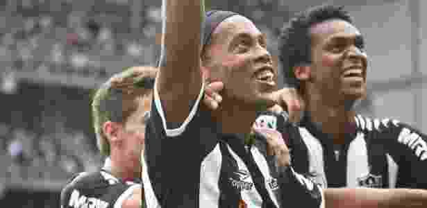 Último ano da Topper no Atlético-MG foi em 2012, com Ronaldinho Gaúcho no time - Bruno Cantini/Flickr do Atlético-MG