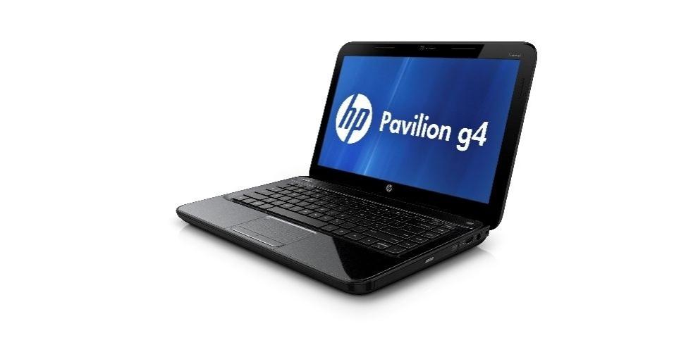 3.dez.2012 - O notebook Pavilion g4-2117, da HP, possui processador A6 de 2,7 GHz, 2 GB de RAM, tela de 14 polegadas, compatibilidade com Wi-Fi e Bluetooth, 500 GB de HD e preço sugerido de R$ 1.400. O notebook possui ótima qualidade de som, mas fraqueja em atividades robustas