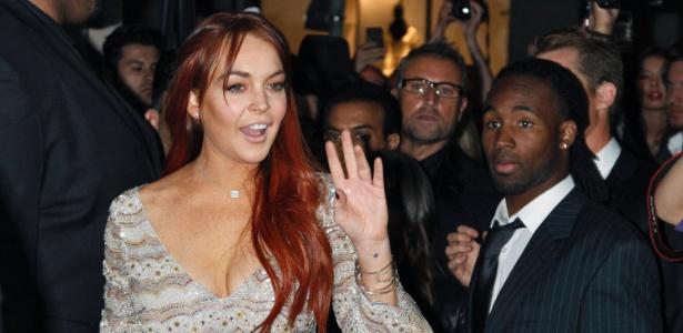 231fdf59f A atriz Lindsay Lohan vai a lançamento de bebida energética em Beverly  Hills (11/