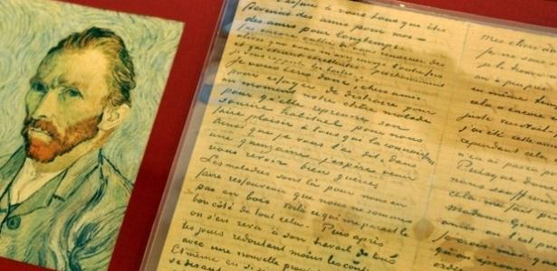 Carta assinada por Van Gogh é avaliada em US$ 630 milhões - AFP/Stan Honda