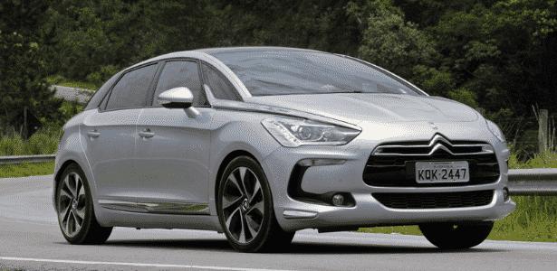 Citroën DS5 passa a ser importado ao Brasil para ocupar o posto de modelo mais caro da marca - Murilo Góes/UOL