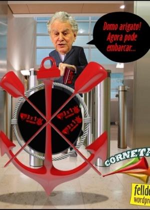 Corneta FC: Corinthians carimba o passaporte e agora pode embarcar
