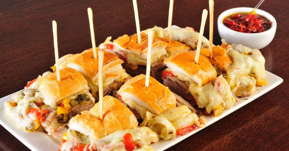 Sanduíche de Pernil estilo Estadão