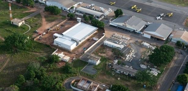 A previsão é que o aeroporto fique pronto até o final de 2013