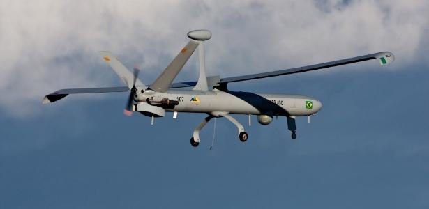 Avião não tripulado da Força Aérea realiza voo experimental no Rio Grande do Sul
