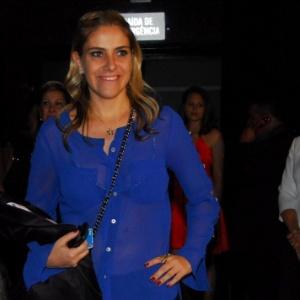 A empresária Dani Zurita, ex-mulher de Edu Guedes