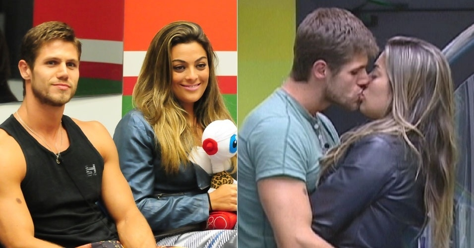 Monique e Jonas, do BBB12